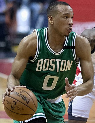 Avery Bradley - Bradley with the Celtics in May 2017