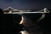 Avon Gorge in The Moonlight (15286146567).jpg