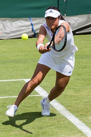 Ayumi Morita - Morita at the 2013 Wimbledon Championships