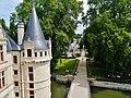 Azay-le-Rideaux Château d'Azay-le-Rideau Ostseite Türmchen 4.jpg