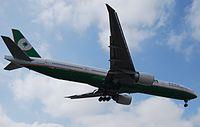 B-16709 - B77W - EVA Air