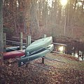 BC canoes in the fall (15684740278).jpg