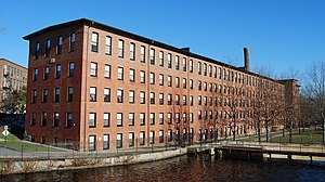 Waltham, Massachusetts - Boston Manufacturing Company
