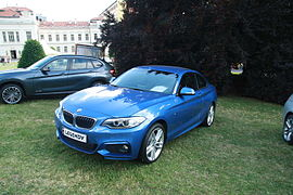 BMW 220d at Legendy 2014.JPG