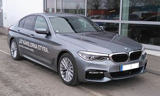 BMW 5 Series (G30) - Image: BMW G30 fr
