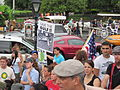 BP Oil Flood Protest NOLA Carriages No Oil In Our Wetlands.JPG