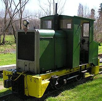 A & G Price - 1951 built 2ft gauge Da type locomotive