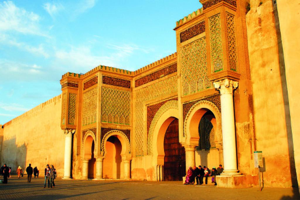 Porte Bab Mansour à Meknès - Photo de Daemon11