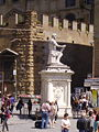 Baccio Bandinelli-Monument to Giovanni delle Bande Nere (Florence).jpg