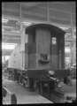 Back view of the tender for C class 2-6-2 steam locomotive, New Zealand Railways no 851, after construction at Hutt Railway Workshops, Woburn. ATLIB 290096.png