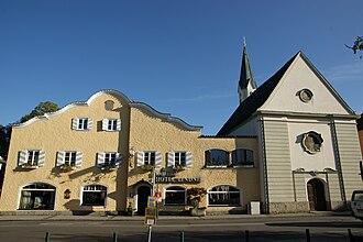 Bad Aibling - Image: Bad Aibling Schloss Prantshausen
