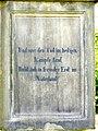 Bad Sassendorf – 2. Gedenktafel an der Sandsteinsäule - panoramio.jpg