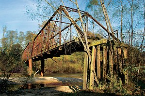 National Register of Historic Places listings in Lawrence County, Mississippi - Image: Bahalia Creek Bridge
