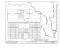 Bainbridge House, 158 Nassau Street, Princeton, Mercer County, NJ HABS NJ,11-PRINT,6- (sheet 13 of 14).png