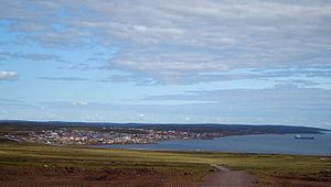 Baker Lake, Nunavut - Baker Lake in autumn 2009