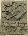 Balasházy János emléktáblája Kossuth Lajos tér 11.JPG