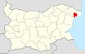 Balchik Municipality Within Bulgaria.png