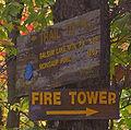 Balsam Lake Mountain trail junction signs.jpg