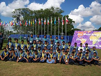 Bangladesh Scouts - Bangladesh Scouts Contingent on 21st World Scout Jamboree