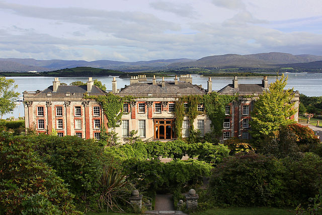 The Bantry House is located on the south side of Bantry Bay near the town of Bantry, Ireland. Photo by Jörg Bittner Unna.