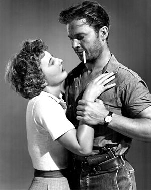 Barbara Stanwyck - With Ralph Meeker in Jeopardy (1953)