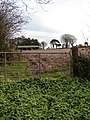 Barn, Ploughed Field, Gate and Mint - geograph.org.uk - 757565.jpg