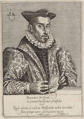 Barnabé Brisson - Barnabé Brisson