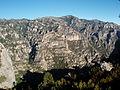 Barrancades vora el Mont Caro.JPG