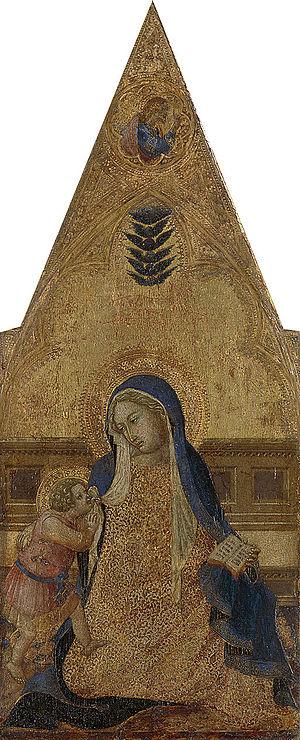 Bartolomeo Bulgarini - Madonna van de nederigheid
