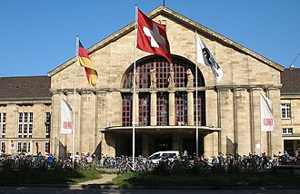 Basel Badischer Bahnhof - Basel Badischer Bahnhof