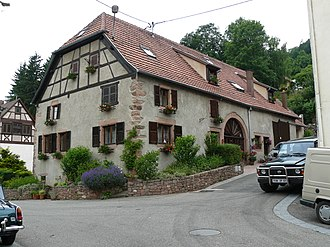 Bassemberg - Old restored farmhouse in the Vosges style