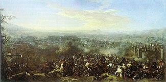 Battle of Nordlingen in 1634 by Jacques Courtois