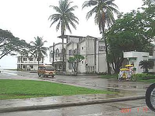 Baybay Component City in Eastern Visayas, Philippines