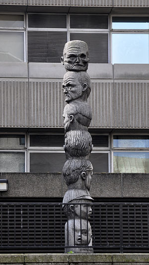 Baynard House, London - The Seven Ages of Man by Richard Kindersley