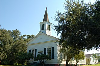 National Register of Historic Places listings in Avoyelles Parish, Louisiana - Image: Bayou Rouge Baptist Church