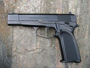 Joint Service Small Arms Program - Browning BDA Hi-Power