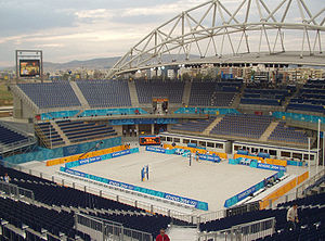 Beach volleyball at the Summer Olympics - The Faliro Coastal Zone Olympic Complex hosted the 2004 tournament.