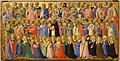 Beato angelico, cristo glorificato nella corte del paradiso, 1423-24, da s. domenico, fiesole 05.jpg