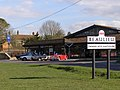 Beaulieu Garage and village sign, New Forest - geograph.org.uk - 146897.jpg