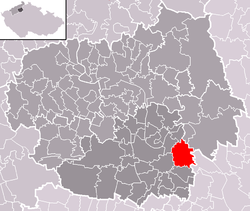 Location of Bechlín