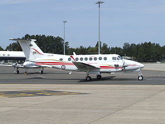 Australian Army Aviation - One of three Beechcraft King Air 350s to serve with Army Aviation