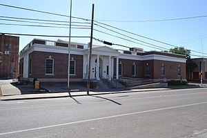 National Register of Historic Places listings in Bee County, Texas - Image: Beeville Post Office, Beeville, Texas