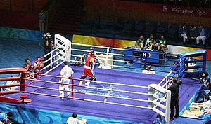 北京オリンピックにおけるボクシング競技's relation image