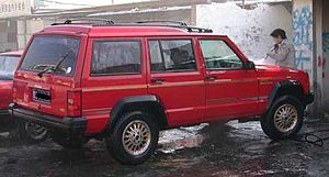 Beijing Benz - Beijing BJ2021, a Jeep XJ with raised roof and longer wheelbase for more rear passenger room