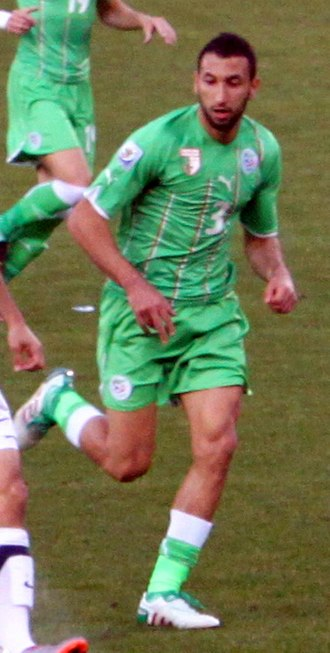 Nadir Belhadj - Belhadj playing at the 2010 FIFA World Cup