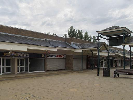Belvoir Square, a modern shopping precinct, Coalville (geograph 4651041)