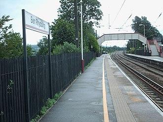 Ben Rhydding railway station - Platform 2