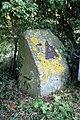 Benchmark on boundary stone beside towpath at Abingdon Lock - geograph.org.uk - 2631887.jpg
