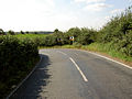 Bend in the road. - geograph.org.uk - 534184.jpg