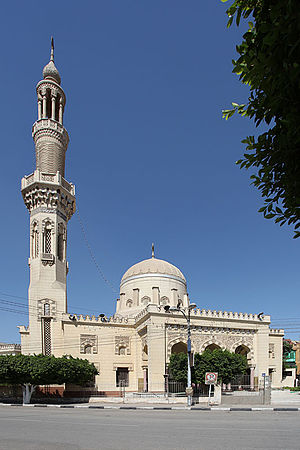 Beni Suef - Image: Beni Suef Aziz Mosque